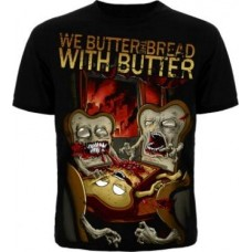 Футболка мужская We Butter The Bread With Butter